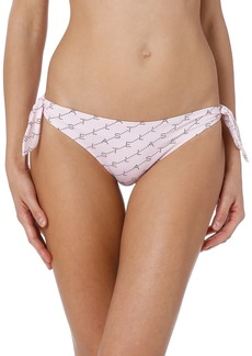 Stella McCartney Monogram Side-Tie Bikini Bottom