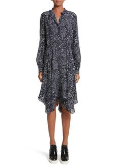 Stella McCartney Moon Print Silk Dress