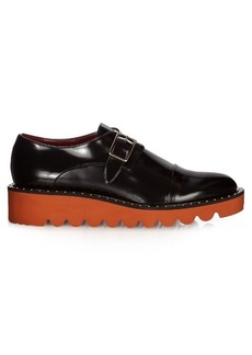 Stella McCartney Odette faux-leather monk-strap shoes