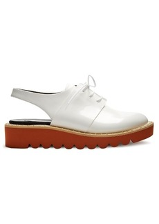 Stella McCartney Odette lace-up faux-leather shoes