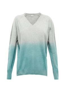 Stella McCartney Ombré cashmere and wool-blend sweater