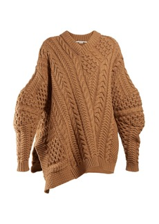 Stella McCartney Oversized chunky-knit sweater