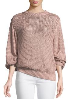 Stella McCartney Oversized Shaker Knit Sweater