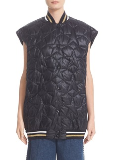 Stella McCartney Oversized Star Quilted Puffer Vest