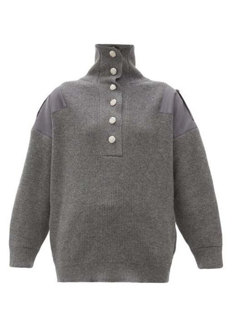 Stella McCartney Oversized wool sweater
