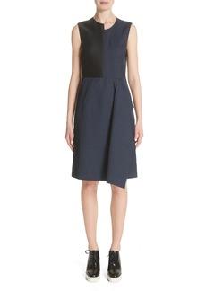 Stella McCartney Patchwork A-Line Dress