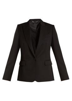 Stella McCartney Peak-lapel single-breasted wool jacket