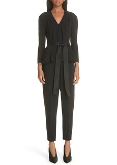 Stella McCartney Peplum Jumpsuit