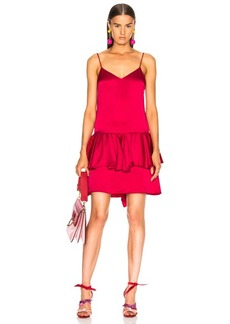 Stella McCartney Peplum Sleeveless Mini Dress