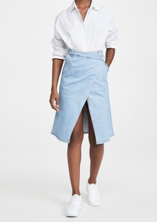 Stella McCartney Peyton Denim Skirt Super Fade Fash