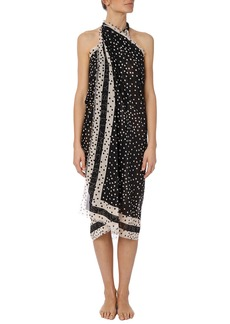 Stella McCartney Polka Dot Silk-Cotton Sarong