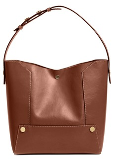 Stella McCartney Popper Faux Leather Bucket Bag