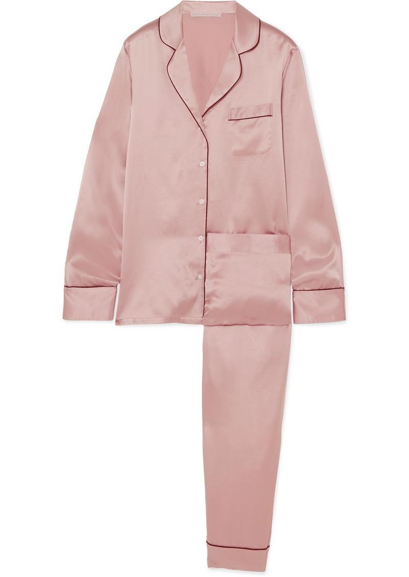 Stella McCartney Poppy Snoozing silk-satin pajama set Now  285.00 ae89e6e2d