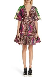 Stella McCartney Print Cotton Dress