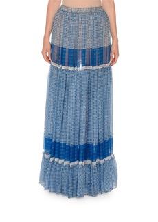 Stella McCartney Printed Boho Maxi Skirt