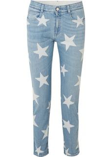 Stella McCartney Printed boyfriend jeans