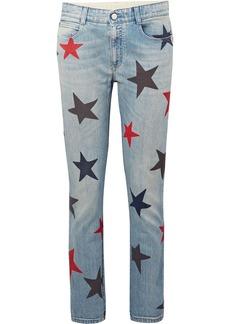 Stella McCartney Printed slim boyfriend jeans