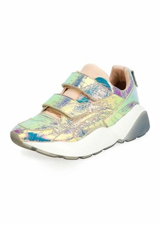 Stella McCartney Prisma Grip-Strap Multicolor Sneaker