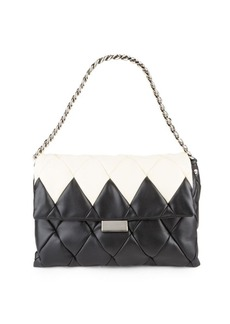 Stella McCartney Quilted Midi Shoulder Bag