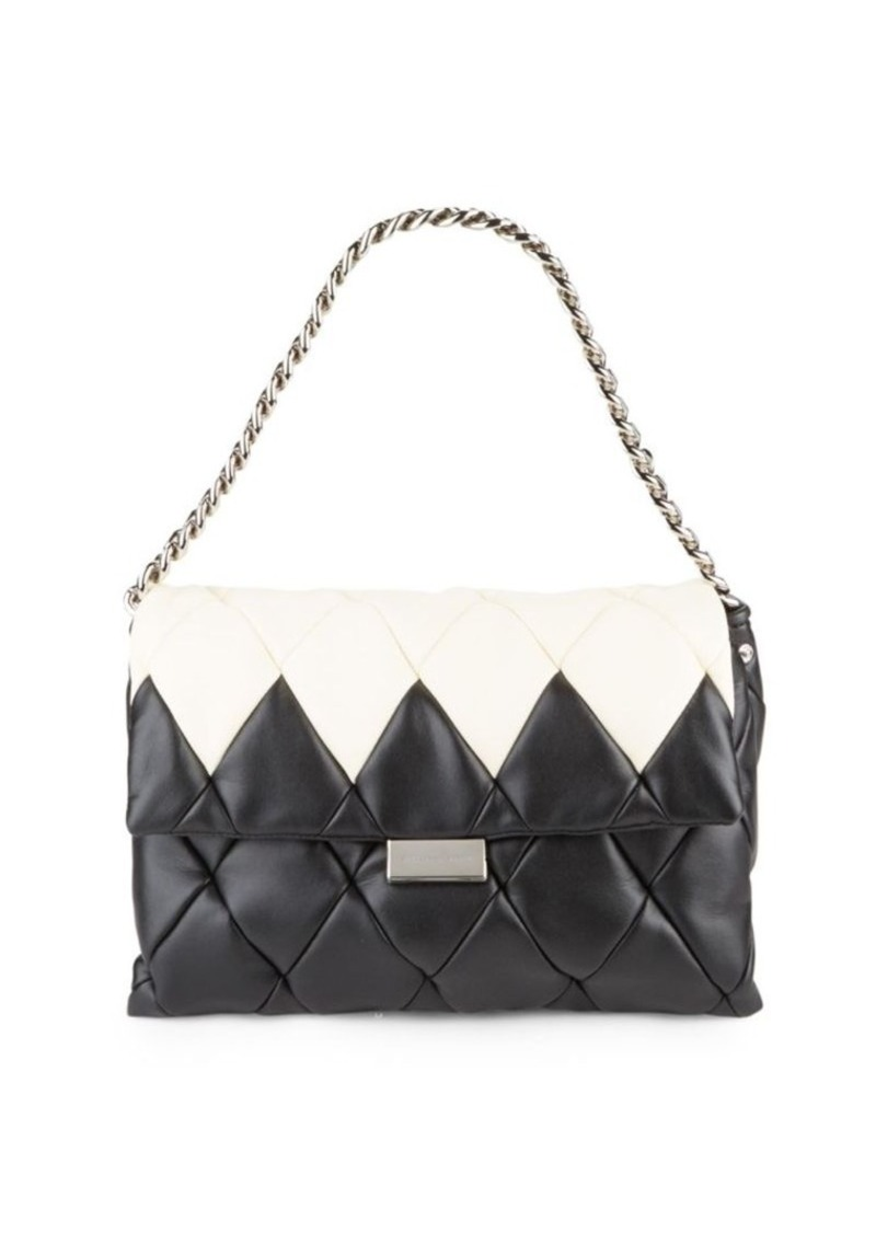 Stella McCartney Stella McCartney Quilted Midi Shoulder Bag ... : stella mccartney quilted bag - Adamdwight.com