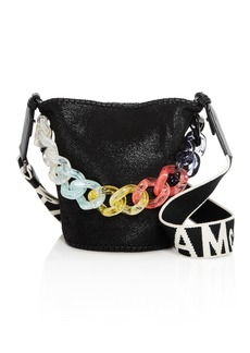 Stella McCartney Rainbow Chain Bucket Bag