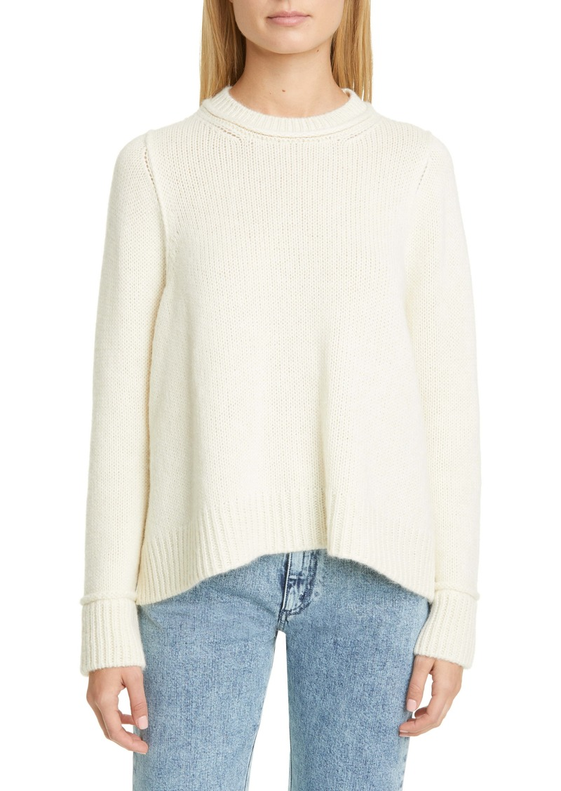 Stella McCartney Raised Seam Alpaca Sweater