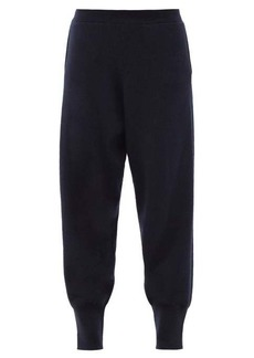 Stella McCartney Regenerated cashmere-blend track pants