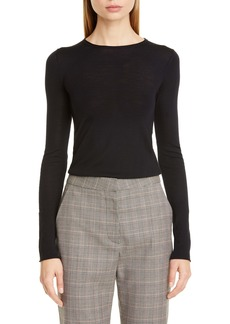 Stella McCartney Ribbed Wool Blend Sweater