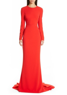 Stella McCartney Ruby Cutout Sheath Gown