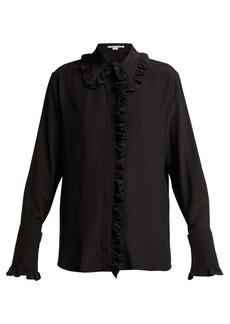 Stella McCartney Ruffled silk crepe de Chine blouse