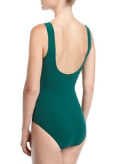 b6a17b3676e ... Stella McCartney Scoop-Neck Lacing One-Piece Swimsuit