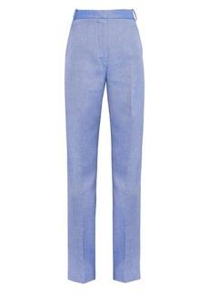 Stella McCartney Scott wide-leg drill trousers