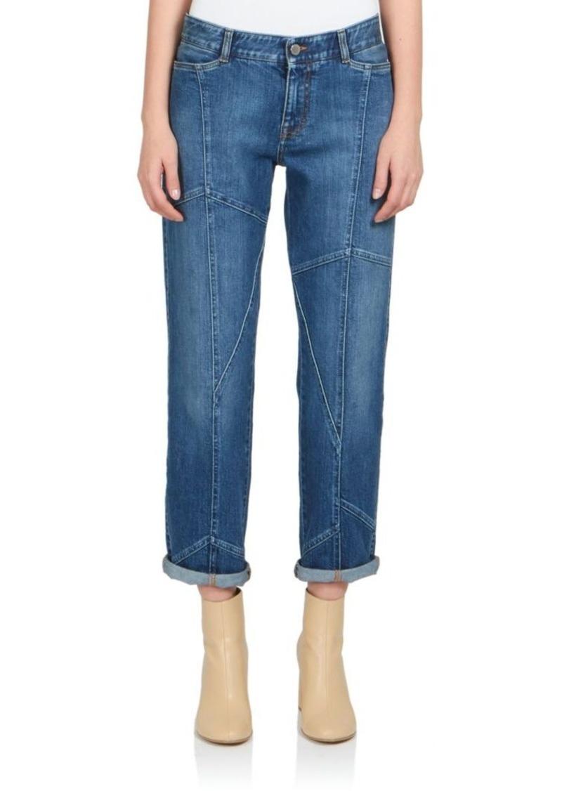 Stella McCartney Seamed Boyfriend Jeans