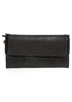 Stella McCartney Shaggy Deer Faux Leather Wallet