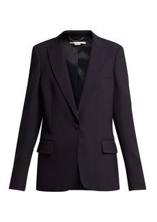 Stella McCartney Single-breasted cady jacket