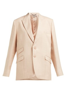 Stella McCartney Single-breasted twill blazer