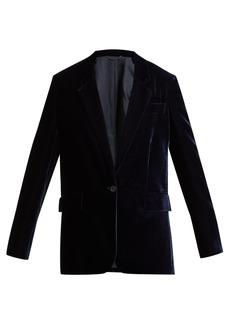 Stella McCartney Single-breasted velvet blazer