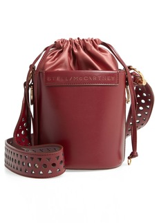 Stella McCartney Small Faux Leather Bucket Bag