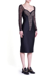 Stella McCartney Small Rose Lace Cocktail Dress