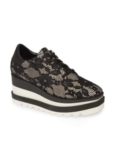 Stella McCartney Sneak Elyse Lace Platform Sneaker (Women)