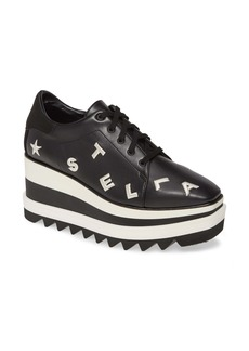 Stella McCartney Sneak Elyse Logo Platform Sneaker (Women)