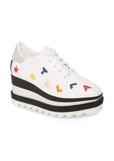 Stella McCartney Sneak-Elyse Logo Platform Sneaker (Women)