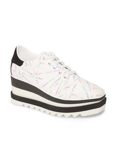 Stella McCartney Sneak Elyse Logo Print Platform Sneaker (Women)