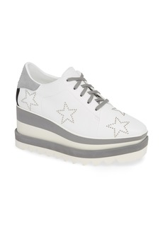 Stella McCartney Sneak-Elyse Studded Wedge Sneaker (Women)