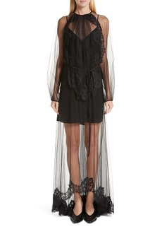 Stella McCartney Sophia Lace Overlay Maxi Dress