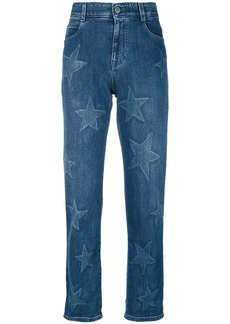 Stella McCartney star boyfriend jeans - Blue