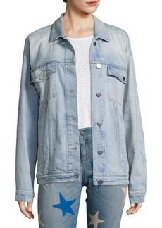 Stella McCartney Star Detail Denim Jacket