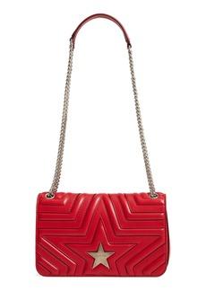 Stella McCartney Star Faux Leather Crossbody Bag