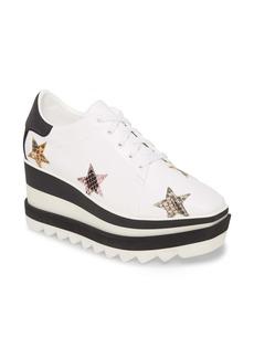 Stella McCartney Star Platform Wedge Sneaker (Women)