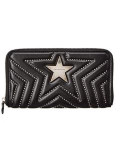 Stella Mccartney Star Zip Around Wallet